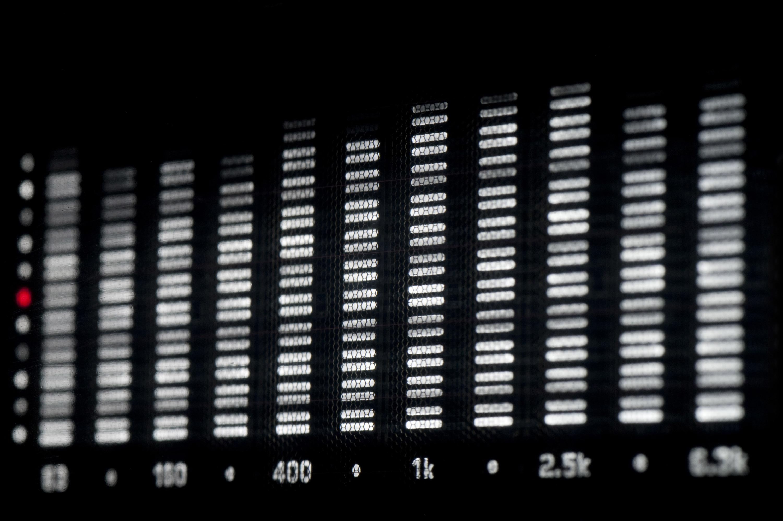 Аудио анализатор спектра схема 24 фотография