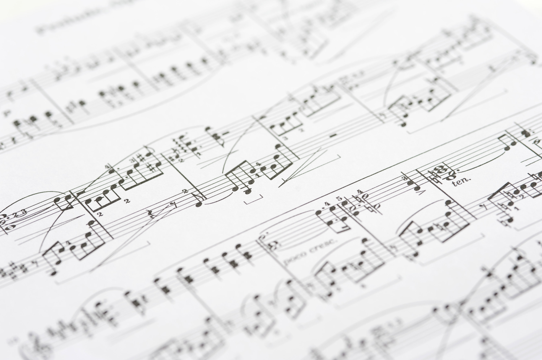 sheet musical notes-3001 | Stockarch Free Stock Photos