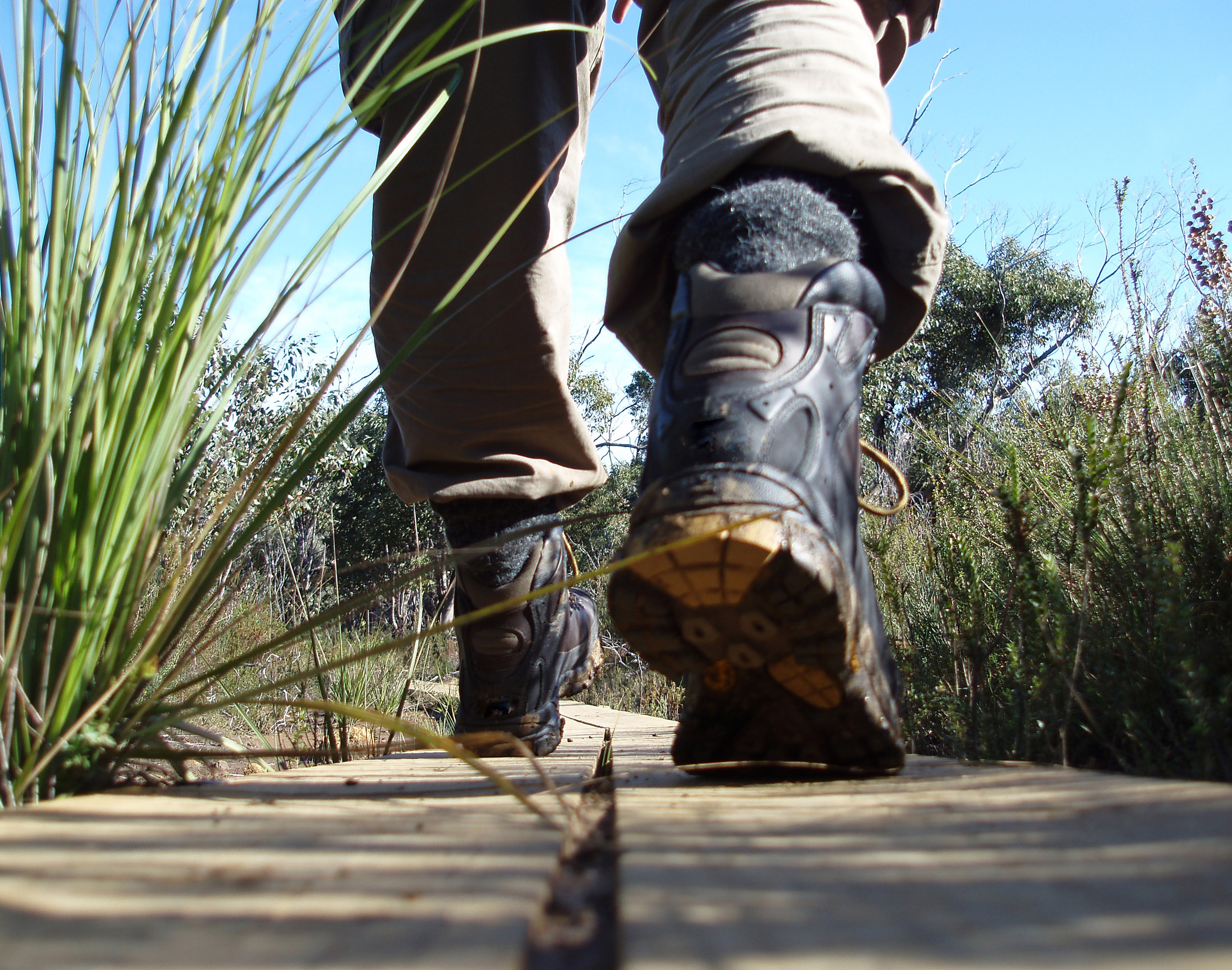 wearing hiking boots-3304 | Stockarch Free Stock Photos