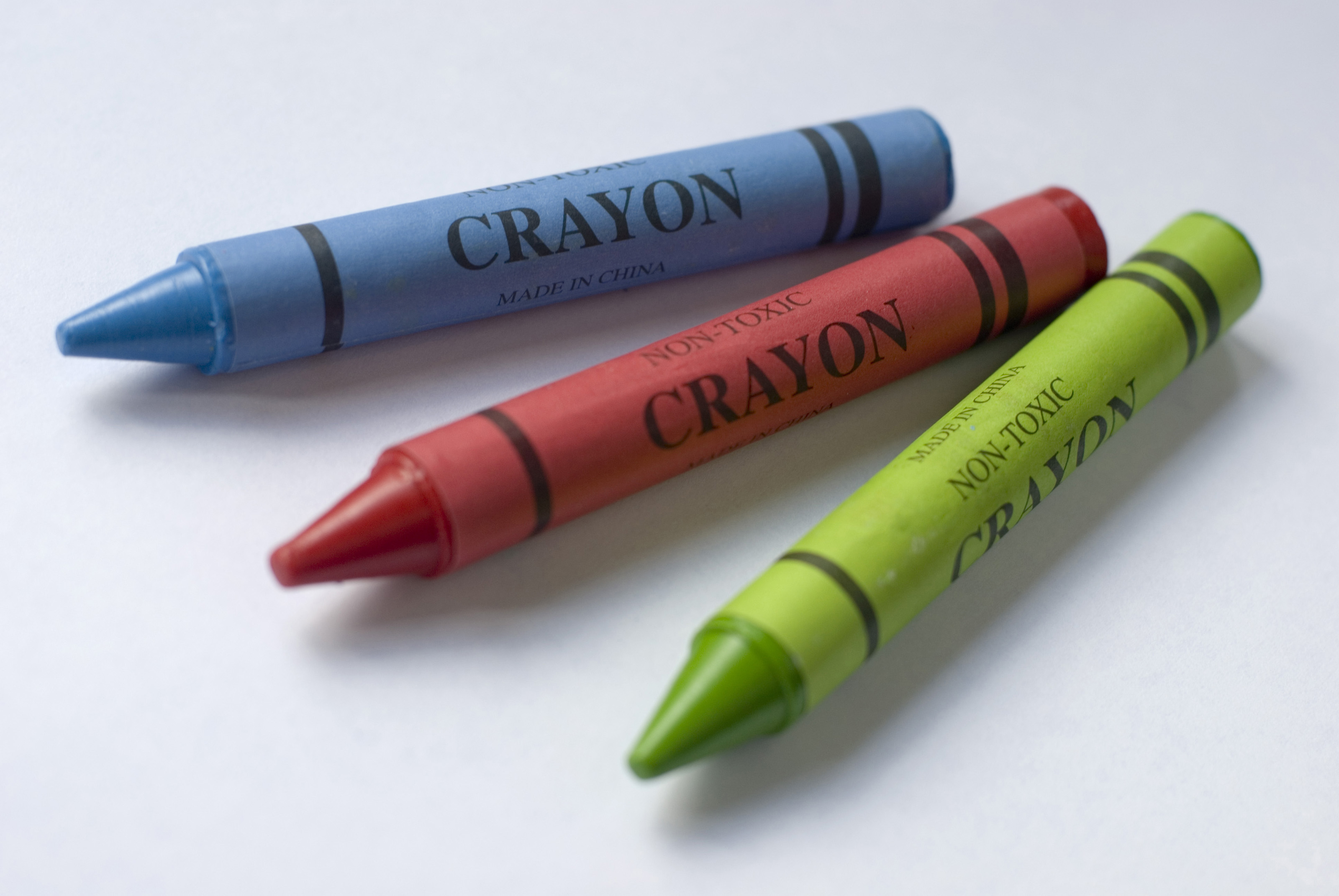 Wax Crayons In Primary Colours-3950 | Stockarch Free Stock ...