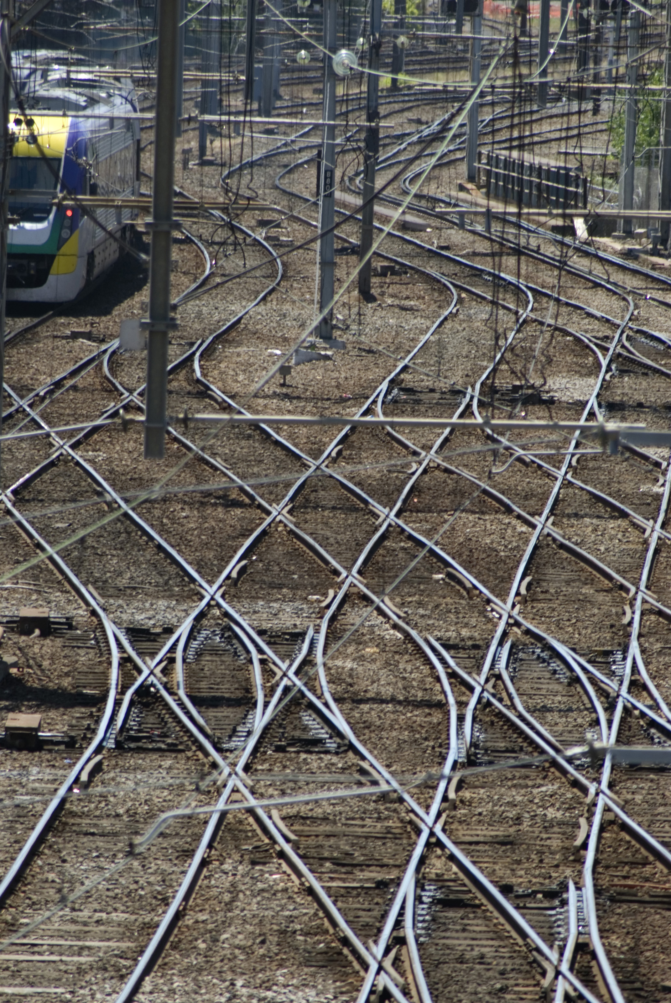 Crisscrossing Railway Lines 3914 Stockarch Free Stock Photos