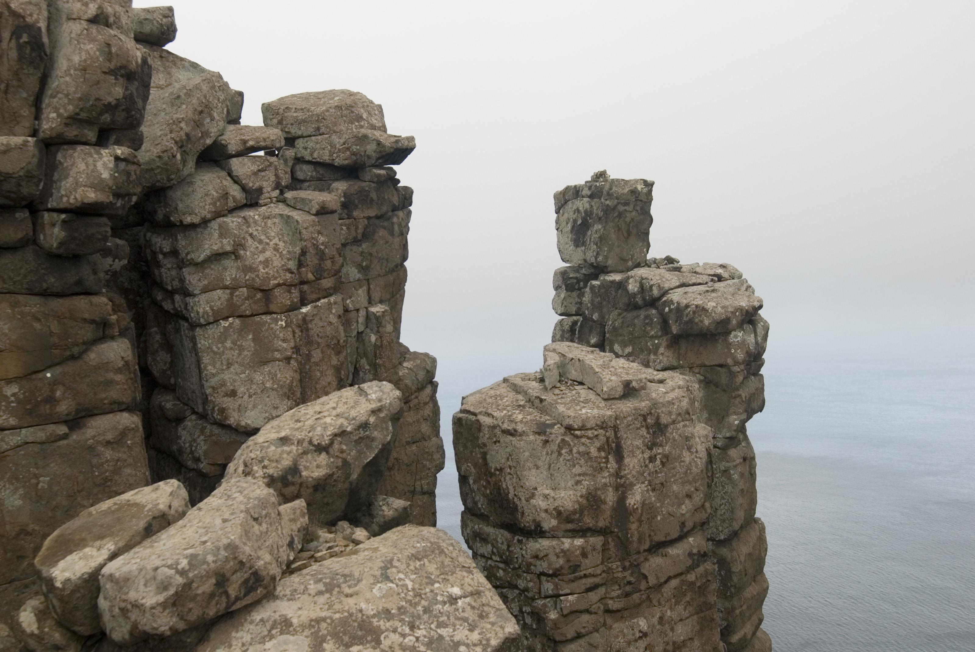 Desert Rock Pillars : Cape pillar cliff details stockarch free stock photos