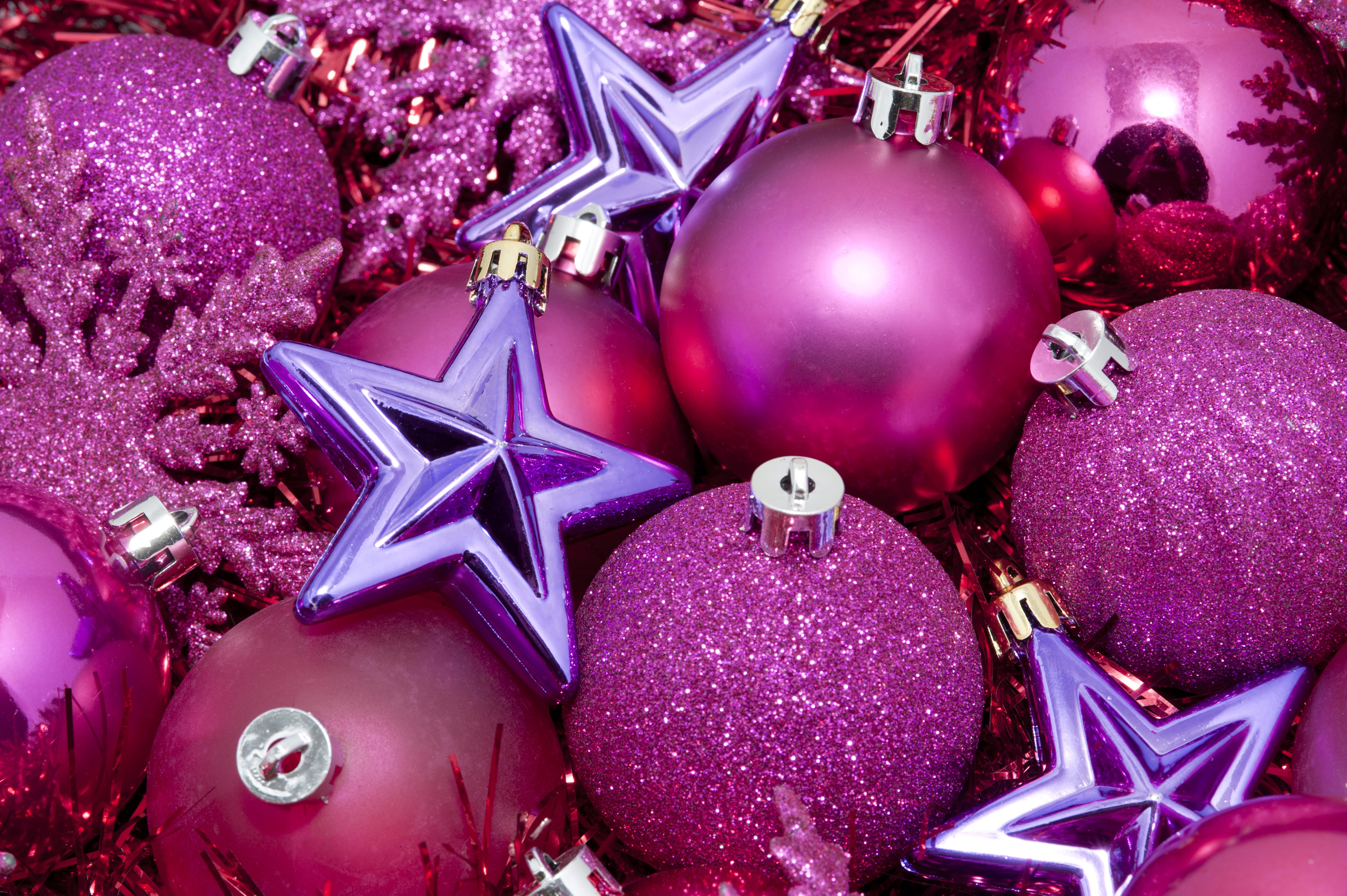 Pink themed christmas 6333 stockarch free stock photos for Pink christmas decorations