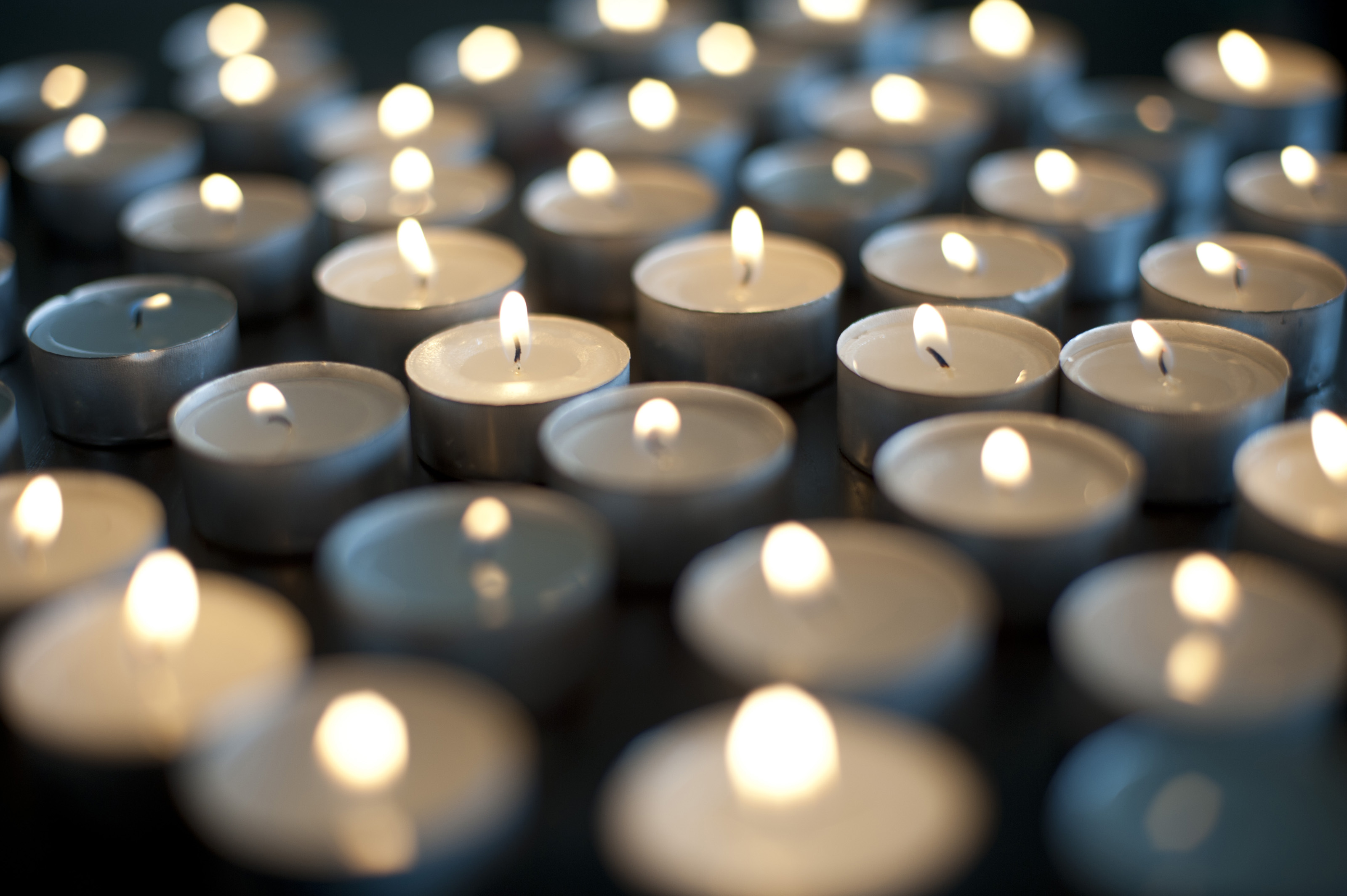Flickering glowing Christmas candles-6368 | Stockarch Free Stock Photos