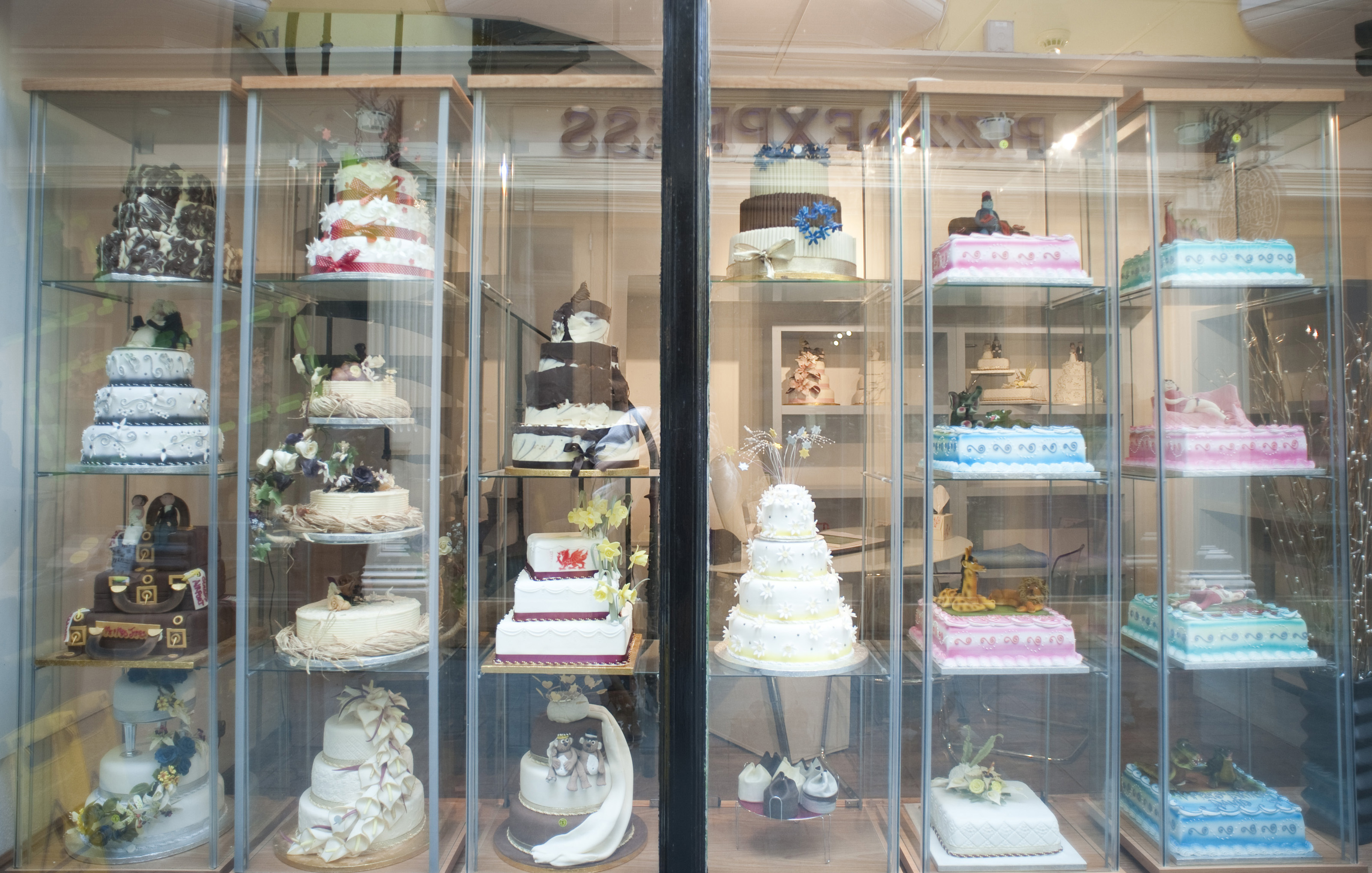 Window Display At A Cake Shop 7038 Stockarch Free Stock Photos