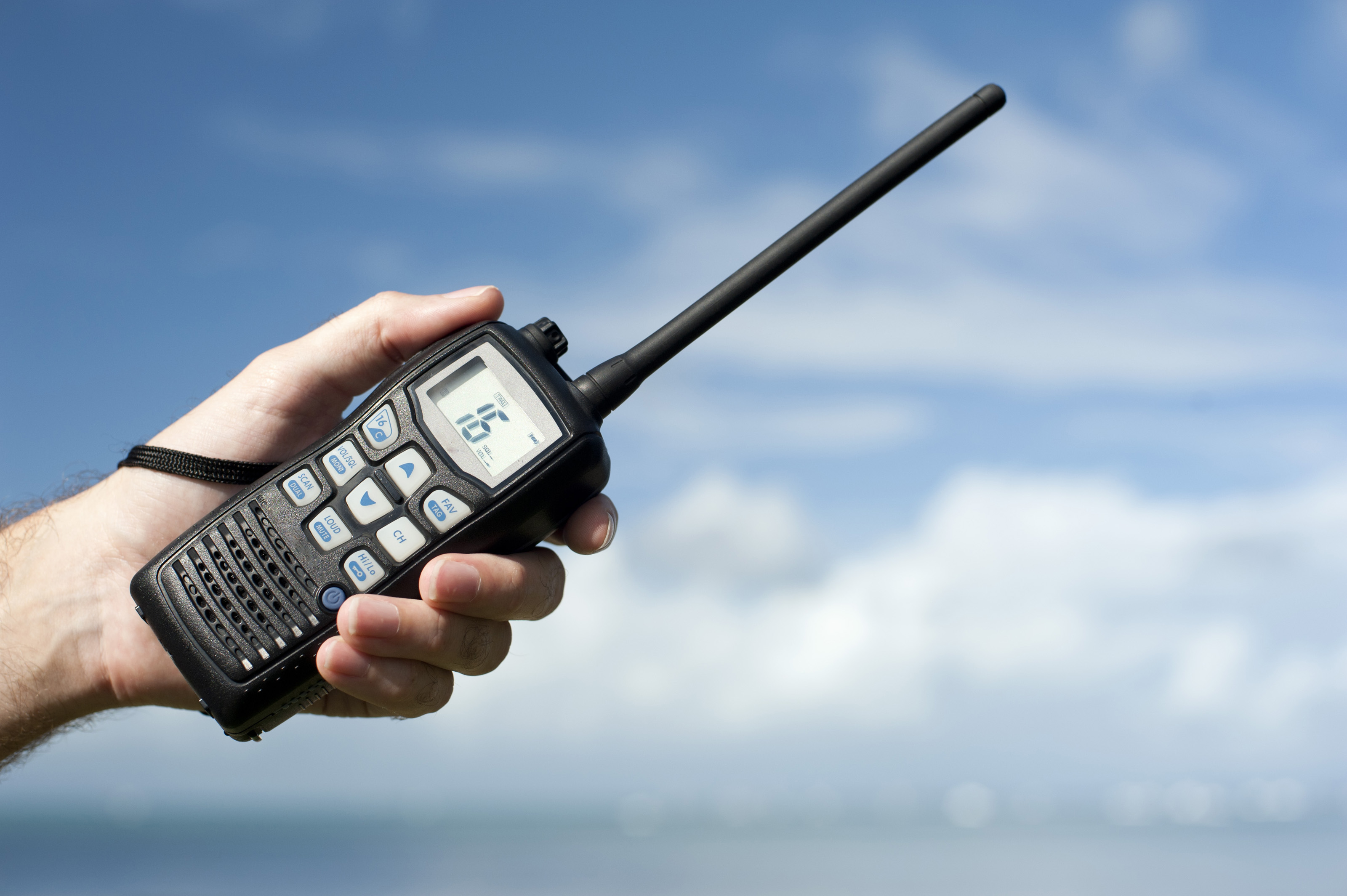 Handheld walkie talkie radio-8134