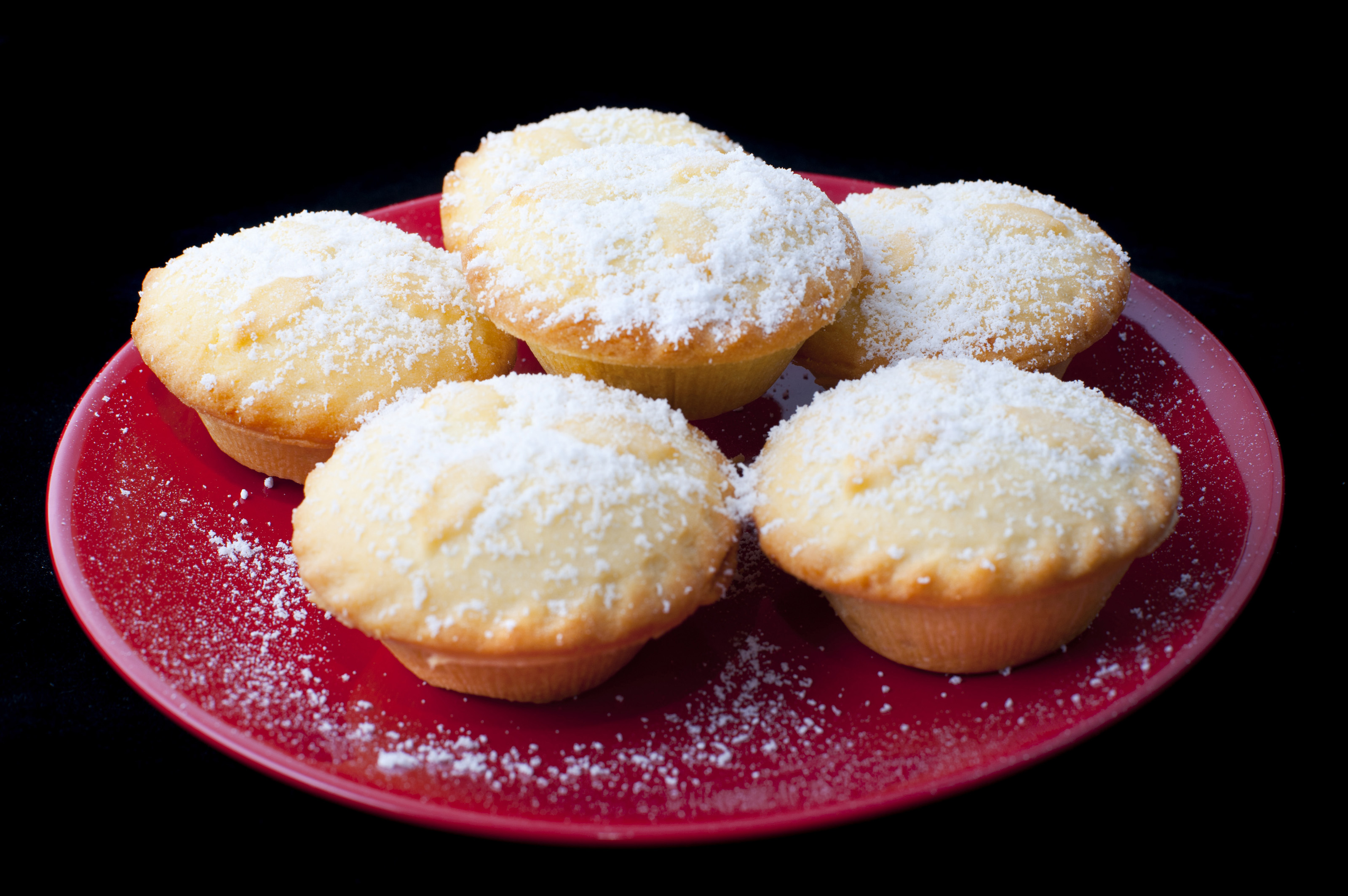 Plate of Christmas mince pies-8266 | Stockarch Free Stock Photos