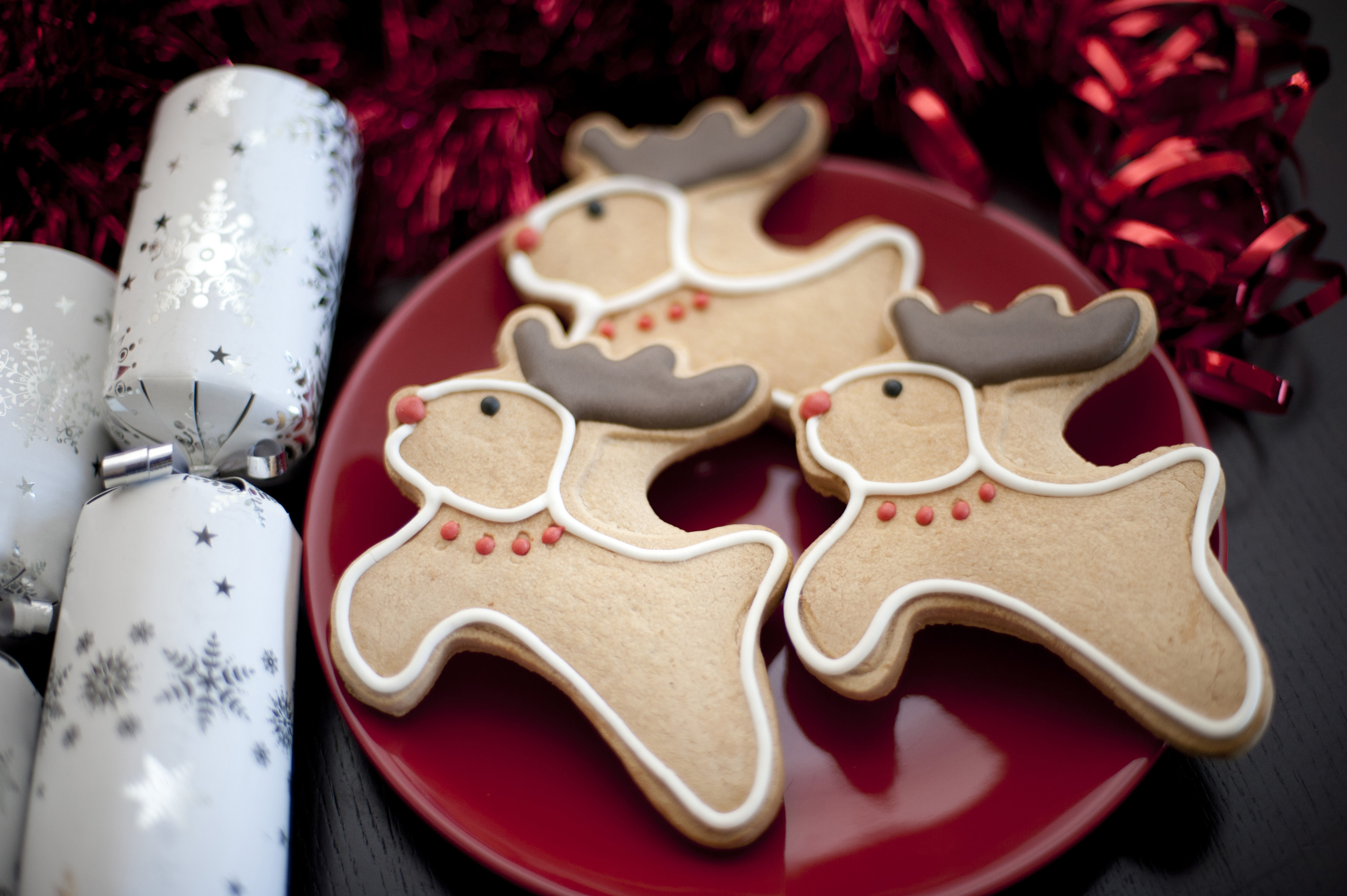 Reindeer Christmas Cookies Or Biscuits 8209 Stockarch Free Stock