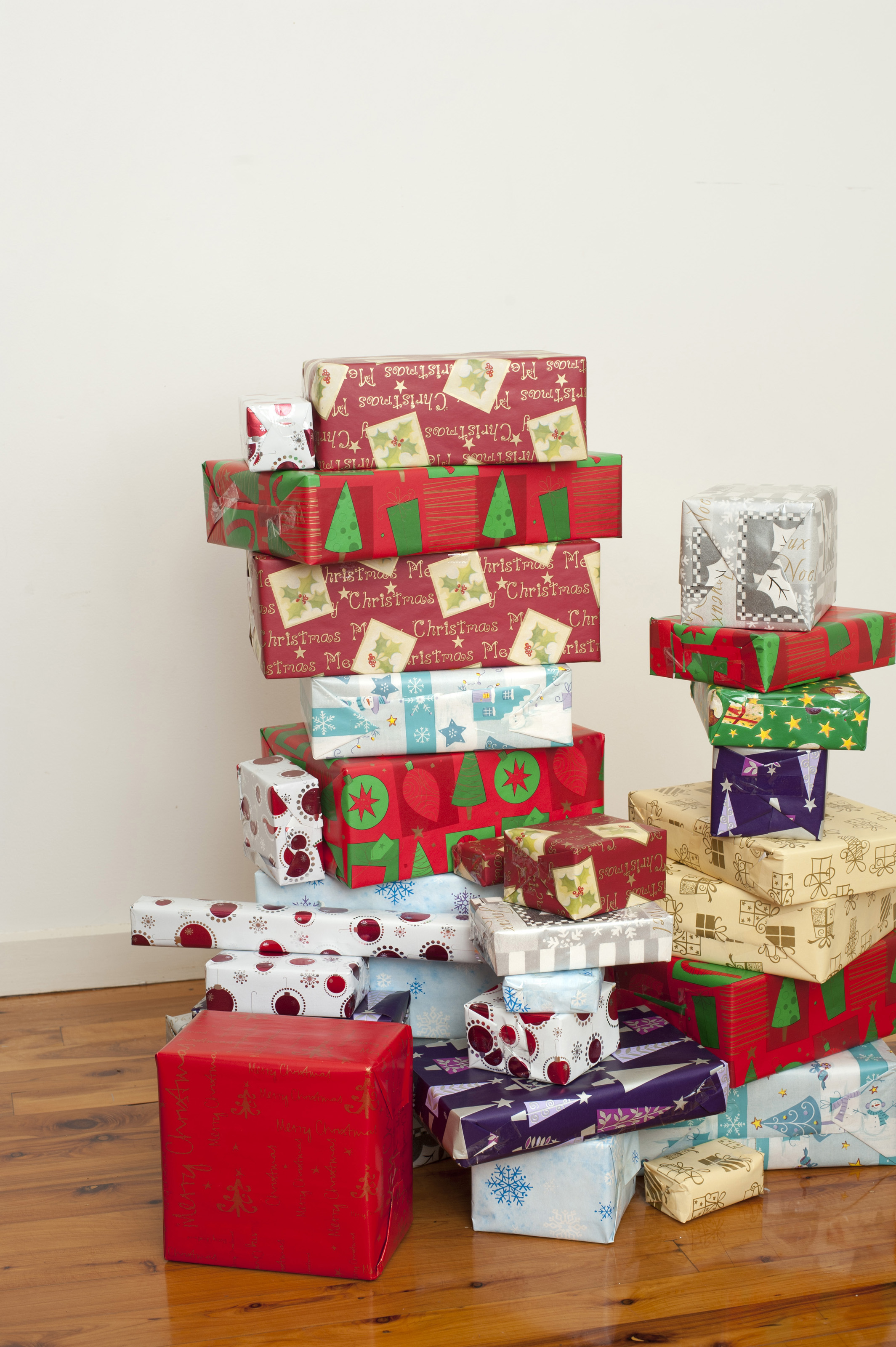 Collection of colourful gift wrapped presents 8271 stockarch free accept license and download image negle Images