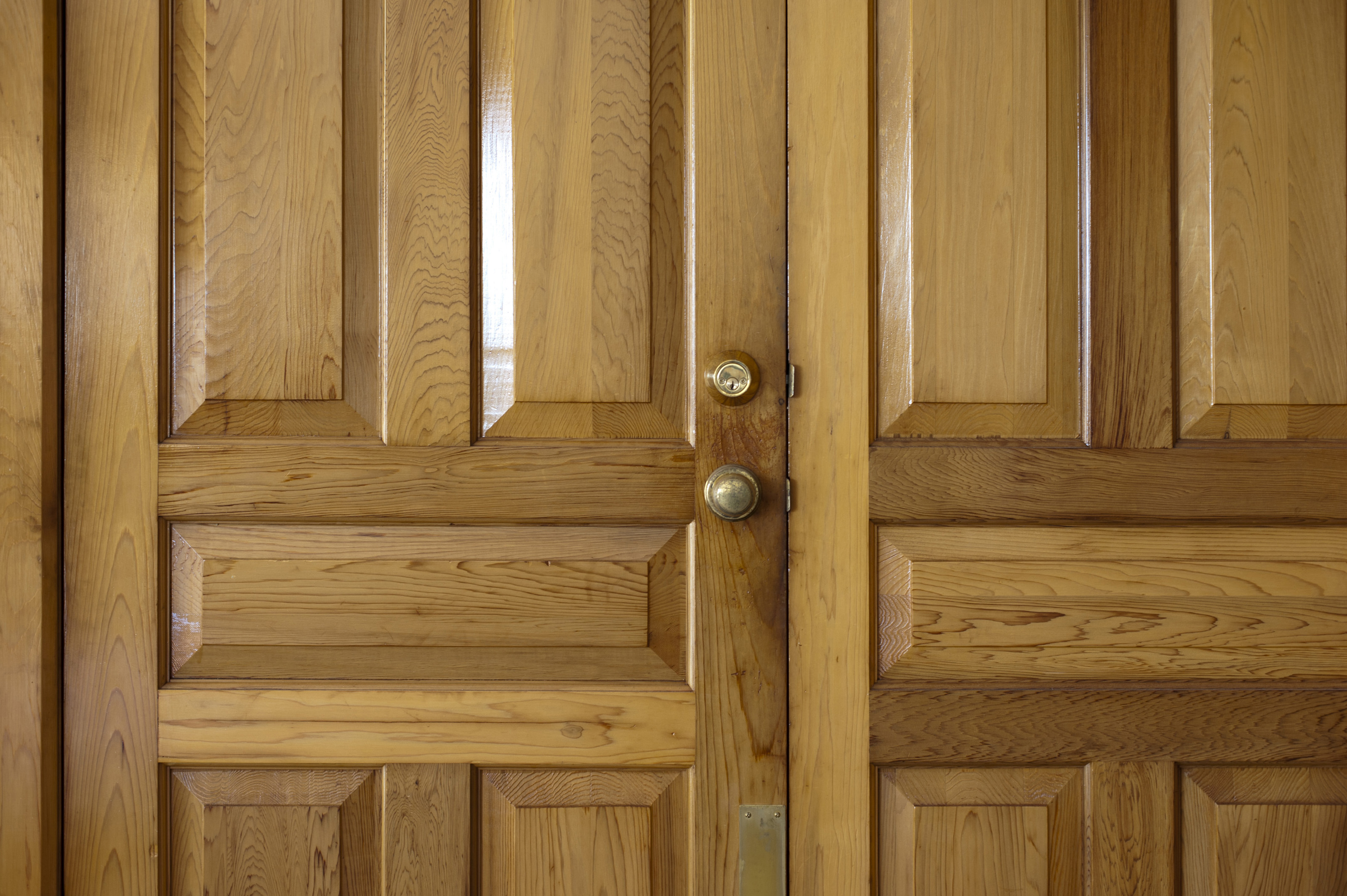 Double wooden front doors 8947 stockarch free stock photos for Double door wooden door