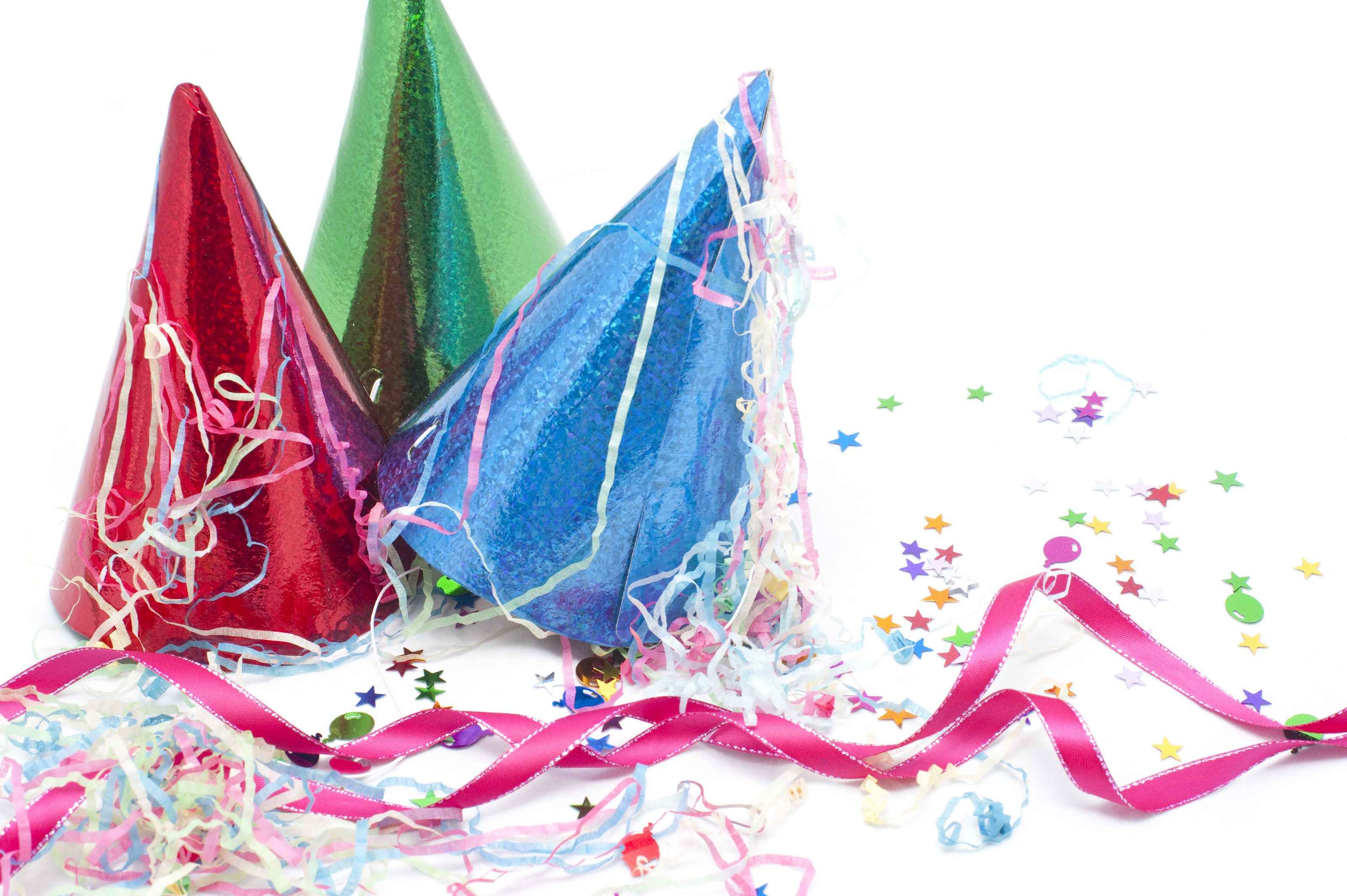 Still Life of Party Hats, Streamers and Confetti-9027  Stockarch Free ...