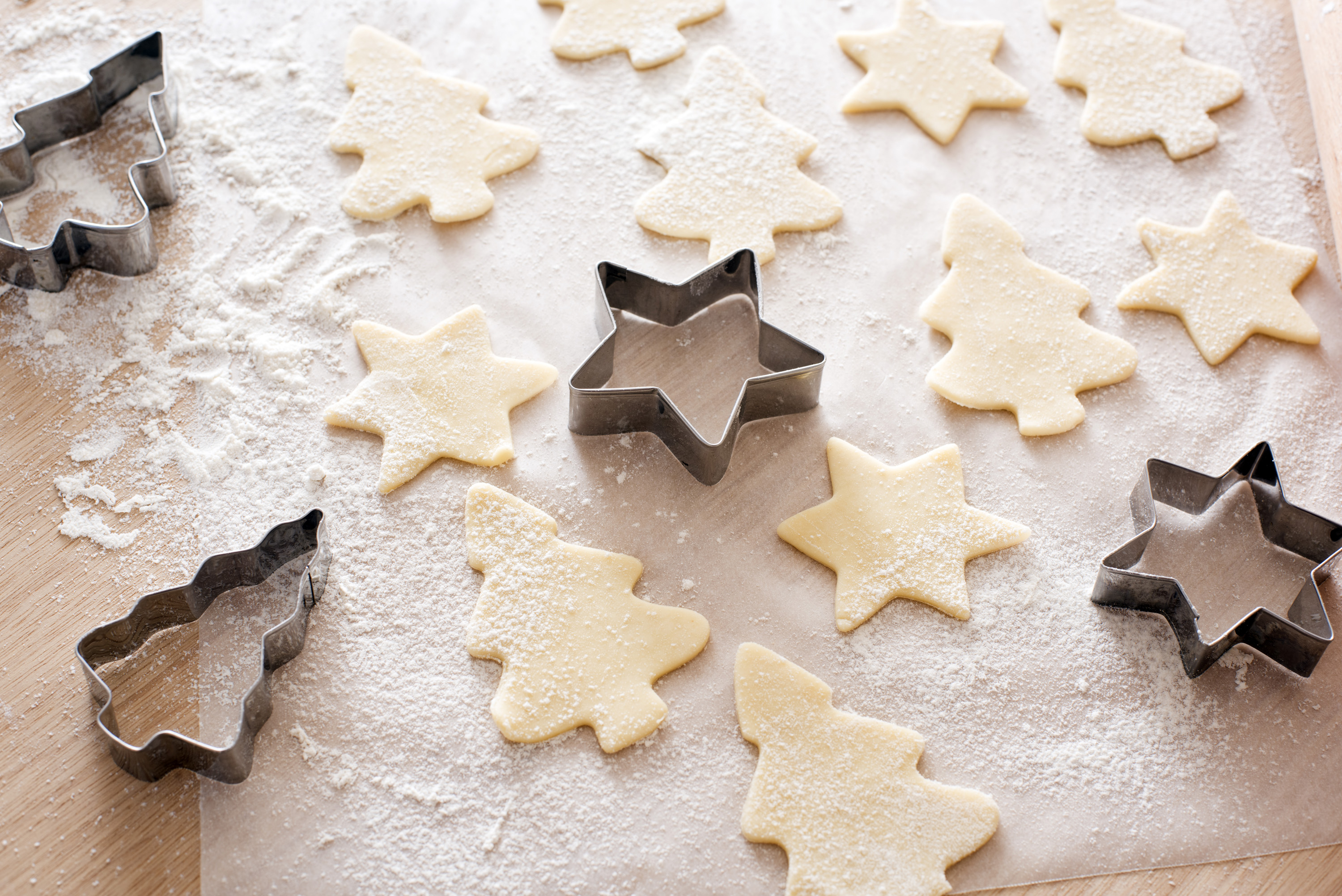 Homemade Christmas Biscuits 9617 Stockarch Free Stock Photos