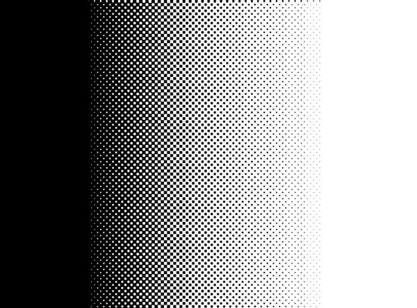 a graduated halftone black and white background