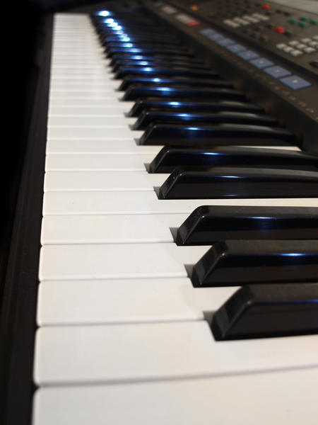 photograph of keyboard