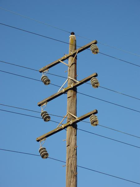 how to get a electricity pole replaced