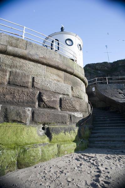 Granite Block Seawall : Whitby sea wall stockarch free stock photos