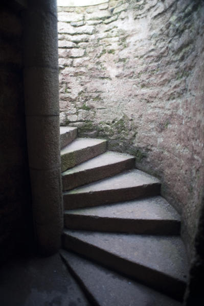 Spiral Stone Staircase Stockarch Free Stock