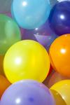 stock image a background picture of colorful party baloons
