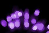 purple glowing bokeh light effect
