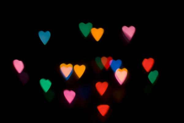 Bokeh Heart Shape Of Light Background Stock Footage Video: Stockarch Free Stock Photos
