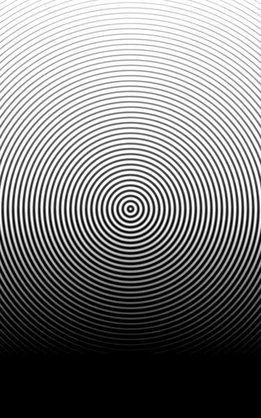 circular halftone fresnel rings