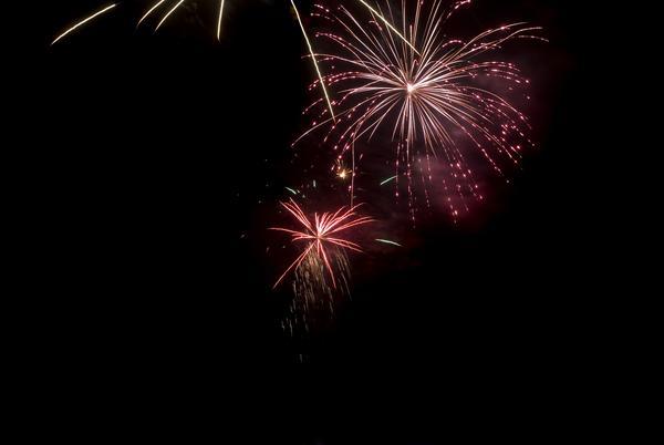 a bonfire night (november 5th) firework display