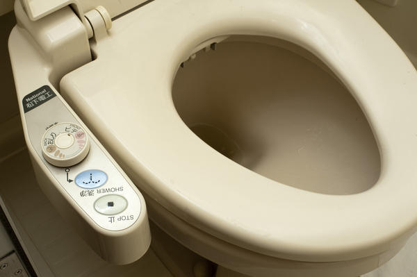 Controls of a Japanese washlet 5378 Stockarch Free Stock Photos